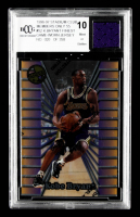Kobe Bryant LE 1996-97 Stadium Club Members Only 55 #52 Finest With Game-Worn Jersey Swatch (BCCG 10) at PristineAuction.com