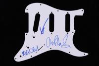Alan Clark, Guy Fletcher & John Illsley Signed Guitar Pickguard (AutographCOA COA) (See Description) at PristineAuction.com