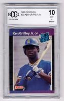 Ken Griffey Jr. 1989 Donruss #33 RR RC (BCCG 10) at PristineAuction.com