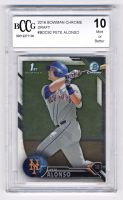 Pete Alonso 2016 Bowman Chrome Draft #BDC92 (BCCG 10) at PristineAuction.com