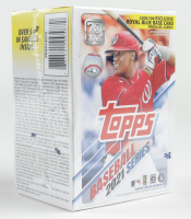 2021 Topps Series 1 Baseball Blaster Box with (7) Packs at PristineAuction.com