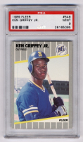 Ken Griffey Jr. 1989 Fleer #548 RC (PSA 9) at PristineAuction.com