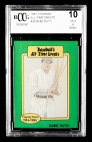 Babe Ruth 1987 Hygrade All-Time Greats #81A (BCCG 10) at PristineAuction.com