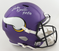 "John Randle Signed Vikings Full-Size Speed Helmet Inscribed ""HOF 10"" (Beckett COA) at PristineAuction.com"