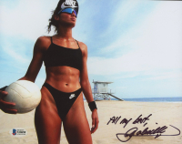 "Gabrielle Reece Signed 8x10 Photo Inscribed ""All My Best"" (Beckett COA) at PristineAuction.com"
