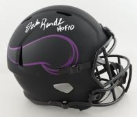 "John Randle Signed Vikings Full-Size Eclipse Alternate Speed Helmet Inscribed ""HOF 10"" (Beckett COA) at PristineAuction.com"