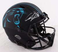 Greg Olson Signed Jaguars Full-Size Eclipse Alternate Speed Helmet (Beckett COA) at PristineAuction.com