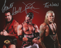 Kevin Nash, Pac & Scott Hall Signed WWE 8x10 Photo (MAB Hologram) at PristineAuction.com