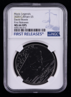 2020 Music Legends Great Britain 5 Euro Coin - First Releases (NGC MS 66 DPL) at PristineAuction.com