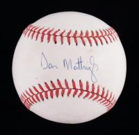 Don Mattingly Signed OAL Baseball (JSA COA) (See Description) at PristineAuction.com