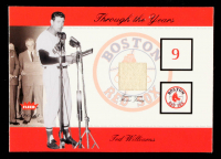 Ted Williams 2002 Greats of the Game Through the Years Level 1 #28 SP/350 at PristineAuction.com