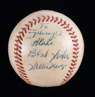 """Willie Mays Signed ONL Baseball Inscribed """"Best Wishes"""" (Beckett LOA & Marshall LOA) at PristineAuction.com"""