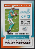 Tua Tagovailoa 2020 Rookies and Stars Ticket Masters #12 RC at PristineAuction.com