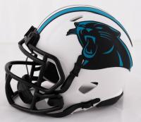 Christian McCaffrey Signed Panthers Lunar Eclipse Alternate Speed Mini Helmet (Beckett COA) at PristineAuction.com