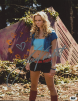 """Laura Vandervoort Signed """"Smallville"""" 8x10 Photo (BAM! COA) at PristineAuction.com"""