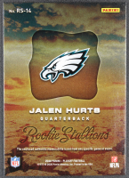 Jalen Hurts 2020 Playoff Rookie Stallions Jerseys #14 RC at PristineAuction.com