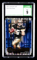 Drew Brees 2001 Quantum Leaf #202 RC (CSG 9) at PristineAuction.com