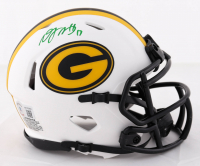 Davante Adams Signed Packers Lunar Eclipse Alternate Speed Mini Helmet (Beckett Hologram) at PristineAuction.com