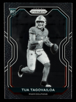 Tua Tagovailoa 2020 Panini Prizm Prizms Black and White Checker #339 at PristineAuction.com