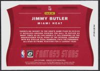 Jimmy Butler 2019-20 Donruss Optic Fantasy Stars #12 at PristineAuction.com