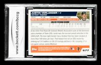 Justin Verlander 2005 Topps #677 FY RC (BCCG 10) at PristineAuction.com