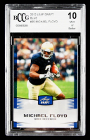 Michael Floyd 2012 Leaf Draft Blue #35 (BCCG 10) at PristineAuction.com