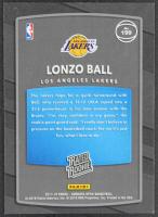 Lonzo Ball 2017-18 Donruss Optic #199 RR RC at PristineAuction.com