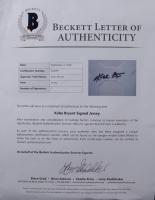Kobe Bryant Signed 34.5x42.5 Custom Framed Jersey (Beckett LOA) (See Description) at PristineAuction.com