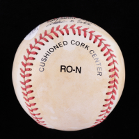 David Justice Signed ONL Baseball (JSA COA) (See Description) at PristineAuction.com