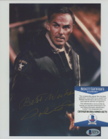 """John Saxon Signed """"Nightmare on Elm Street"""" 8x10 Photo Inscribed """"Best Wishes"""" (Beckett COA) at PristineAuction.com"""