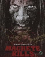 """Danny Trejo Signed """"Machete Kills"""" 8x10 Photo Inscribed """"Machete"""" (Legends COA) at PristineAuction.com"""