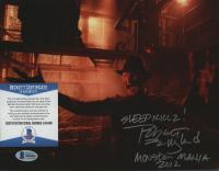 "Robert Englund Signed ""Nightmare on Elm Street"" 8x10 Photo Inscribed ""Sleep Killz!"" & ""Monster Mania 2012"" (Beckett COA) at PristineAuction.com"