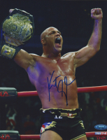 Kurt Angle Signed WWE 8x10 Photo (TriStar Hologram) at PristineAuction.com