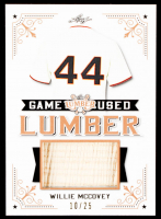 Willie McCovey 2021 Leaf Lumber Game Used Lumber #GUL106 #10/25 at PristineAuction.com