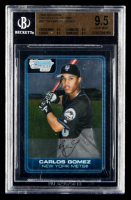 Carlos Gomez 2006 Bowman Chrome Prospects #BC134 (BGS 9.5) at PristineAuction.com