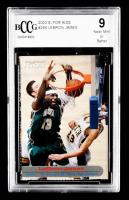 LeBron James 2003-04 Upper Deck Phenomenal Beginning #12 James Displays (BCCG 9) at PristineAuction.com