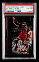 Michael Jordan 1998-99 Upper Deck MJ23 #M29 (PSA 8) at PristineAuction.com