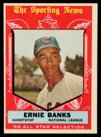 Ernie Banks 1959 Topps #559 All-Star at PristineAuction.com