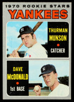 Thurman Munson / Dave McDonald 1970 Topps #189 Rookie Stars RC at PristineAuction.com