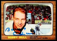 Brett Hull Signed 1966-67 Topps #112 (Hull COA) at PristineAuction.com
