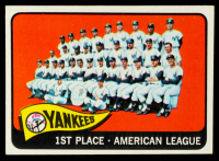 1965 Topps #513 New York Yankees Team Card at PristineAuction.com