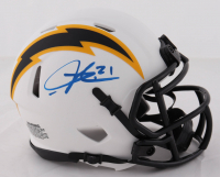 LaDainian Tomlinson Signed Chargers Lunar Eclipse Alternate Speed Mini Helmet (Beckett Hologram) at PristineAuction.com