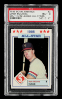 Mark McGwire 1986 Southern League All-Stars Jennings #3 (PSA 9) at PristineAuction.com