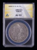 1880-O Morgan Silver Dollar VAM-57 (ANACS AU53) at PristineAuction.com