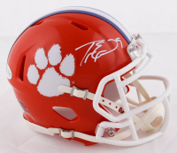 Travis Etienne Signed Clemson Tigers Speed Mini Helmet (Beckett COA) at PristineAuction.com