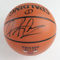 Dennis Rodman Signed Bulls Logo NBA Game Ball Series Basketball (JSA COA & Fiterman Sports Hologram) at PristineAuction.com
