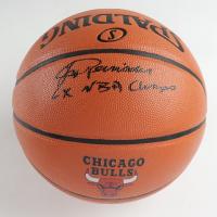 "Jerry Reinsdorf Signed NBA Game Ball Series Bulls Logo Basketball Inscribed ""6x NBA Champs"" (Schwartz Sports COA) at PristineAuction.com"