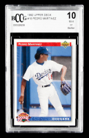 Pedro Martinez 1992 Upper Deck #18 (BCCG 10) at PristineAuction.com