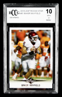 Baker Mayfield 2018 Leaf Rookie Star #01 (BCCG 10) at PristineAuction.com