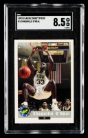 Shaquille O'Neal 1992 Classic #1 (SGC 8.5) at PristineAuction.com